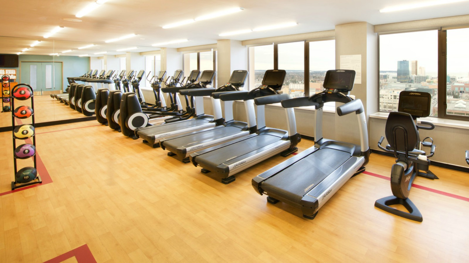Anchorage Government Hotel - Fitness Center